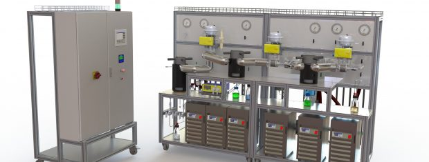 CO2 Extraktion Pilot Plant – Advanced-System